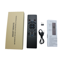 Mini Fly Air Mouse T6-A 2.4G Wireless Keyboard Remote Control For Android TV Box Black