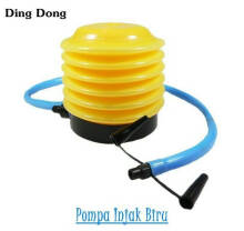 Pompa angin injak manual - Yellow Blue