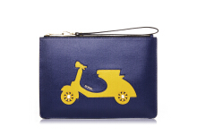 BONIA Royal Vespa Mini iPad Clutch - Navy [860177-801-03]