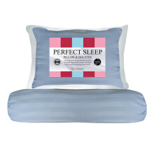 THE LUXE Perfect Sleep Pillow Bolster - Sky Blue