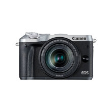 CANON EOS M6 Kit EF-M18-150mm IS STM (Silver)