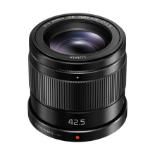 Panasonic Lumix G 42.5mm f/1.7 ASPH. POWER O.I.S. Black