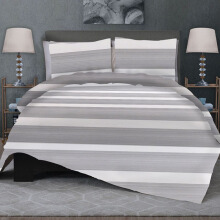 CELINA Sprei Set & Quilt Cover Single - Semplice Abu - 120x200x40cm