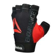 REEBOK Strength Glove - Red M - Black/Red [M] RAGB-11235GR
