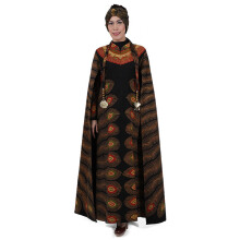 SHE BATIK Dress Batik Tulis Merak - Black