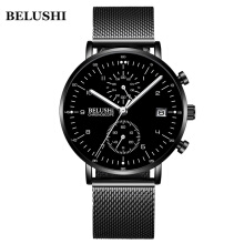 BELUSHI  NEW Fashion Men Luxury Business Male Watch 540
