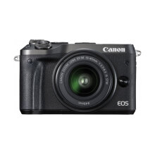 CANON EOS M6 Kit EF-M15-45mm IS STM (Black)
