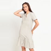 A&D Ms 1247 Ladies Dress - Light Brown