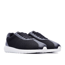 LIFE 8 Classic Weaving Cortez Sports Shoes - Black