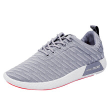 BESSKY Men Fashion Solid Cross Tied Casual Shoes Running Shoes Gym Shoes_