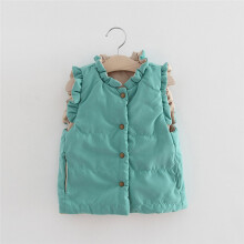 BEESKY Toddler Kids Baby Girls Winter Warm Clothes Waistcoat Coat Outwear Jacket Tops_