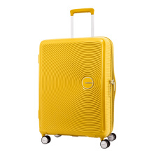American Tourister Koper Hard Case Curio Spinner 80/30 EXP TSA Golden Yellow