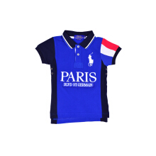 POLO RALPH LAUREN - Cotton Lacoste Polo Shirt Black-Navy
