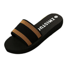 BESSKY Summer Women Shoes Platform Bath Slippers Wedge Beach Flip Flops Slippers Shoes_