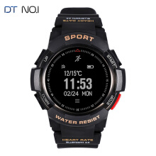 No.1 F6 Smartwatch IP68 Waterproof Bluetooth 4.0 Dynamic GPS Heart Rate Monitor For Android/iOS