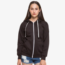 HOODIEKU Hoodie Zipper - Dark Brown