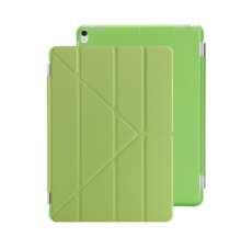 Ins I-383 artificial leather Hard Core sheer Apple Ipad MINI1/2/3 protective cover&Y stand-Green