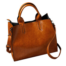 BESSKY Fashion Women Leather Handbag Messenger Shoulder Bag Satchel _