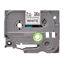 BROTHER Label Tape TZE-S221 9MM Strong Adhessive Black on White