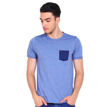 FAMO Men Tshirt 0211 502111712 - Blue