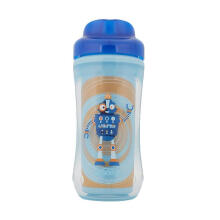 Dr. Brown's Hard Spoutcup Robot 01002 INTL Botol Minum - Blue [10 oz]