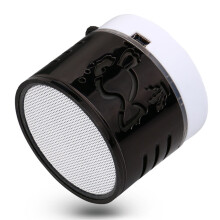 BESSKY New Super Bass Mini Portable Bluetooth Handsfree Wireless Speaker With LED Light_