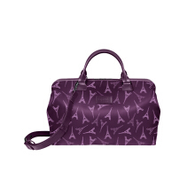Lipault Lady Plume Bowling Bag M Eiffel Purple