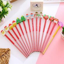 BESSKY 8pcs Xmas Pencil Christmas Characters Kids Loot Goody Party Bag Fillers Toys _ Multicolor