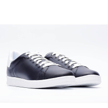 LIFE 8 Classic Casual Cattle Fabric Shoes - Black