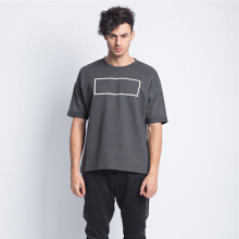ANTHM Oversized Box Tee-Black