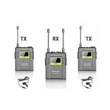 Saramonic UWMIC9 (RX9+TX9+TX9) UHF Wireless Lavalier Black