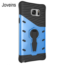 JOVEINS SAMSUNG Note5 Case Multi-Layer Hybrid Protective Case with 360 Degree Stand for Note5 Cover