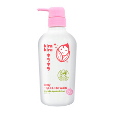 KIRA KIRA Baby Top-to-Toe Wash -  400  ml