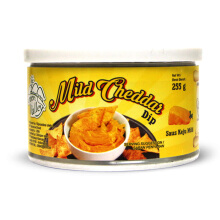 GREEN VALLEY Mild Cheddar Dip 255gr