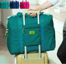 Travelmate - Foldable Travel Bag / Hand Carry Tas Lipat / Koper Bagasi Organizer - Fanta-Foldable