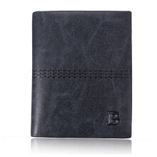 Zanzea Vertical Mens Wallet Male Money Purses Soft ID Card Case