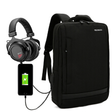 Wei's select fashion men's waterproof and wear-resistant computer backpack hot trend comes with USB backpack B-FC7030