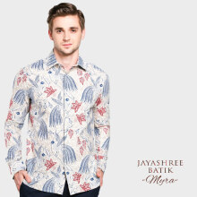 JAYASHREE BATIK Slim Fit Long Sleeve Myra - Beige
