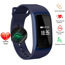 PEKY A09 Touch Screen Smart Band blood pressure Heart Rate Monitor Pedometer Fitness Smartwatch