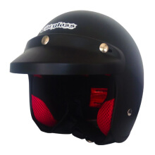 CARGLOSS CF Army Retro Ghotic Helm Half Face - Black Doff