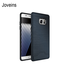 Joveins Samsung Note7 Case Shockproof of Heavy Duty Full Protective Cover with Kickstand Dual Layer Wallet Design Case
