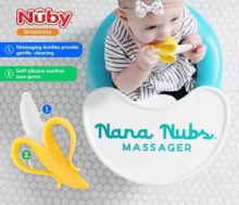 NUBY Nana Nubs Banana Teether Gigitan Bayi Pisang