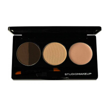 STUDIOMAKEUP Brow Sculpting Palette - Dark