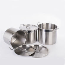 SUPRA Stock Pot Panci Masak 3 Set 16 + 20 + 25 Qt (SP-3in1)