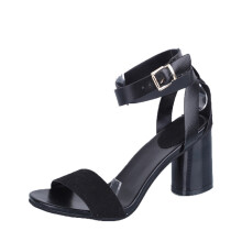 BESSKY Ankle Strap Heels Women Sandals Summer Shoes Chunky High Heels Party Sandals _
