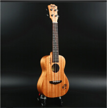 BWS Clover 23inch Ukulele Concert Acoustic Ukelele Children 4 Strings Small Guitar Hawaii B-05 Orange