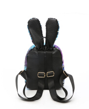 Fashionmall Women's Fashion Rabit Ear Squins Cute Bag