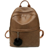 BESSKY Women Brown Backpacks Schoolbags Travel Shoulder Bag _