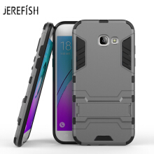 For Samsung Galaxy A5 2017 Case A520 Slim Robot Armor Kickstand Shockproof Rubber Hard Back Case For Samsung A5 2017 Phone Cover
