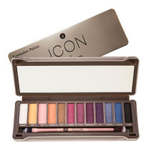 ABSOLUTE NEW YORK Icon Eyeshadow Palette Twillight